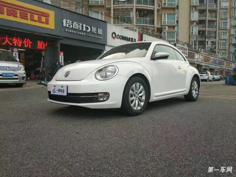 大众甲壳虫掀背 [进口] 2013款 1.2T 自动 舒适型
