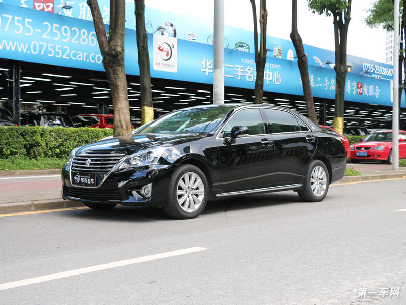 丰田皇冠 2012款 2.5L 自动 Royal真皮版 (国Ⅳ)