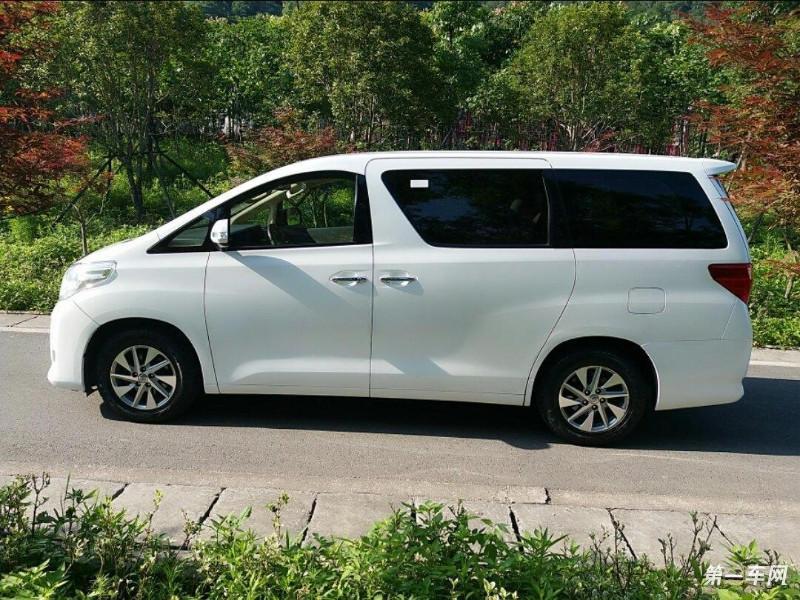 丰田埃尔法 [进口] 2013款 3.5l 自动 7座 豪华型