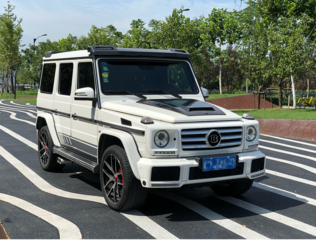 奔驰G级 G500 [进口] 2016款 4.0T 自动 汽油