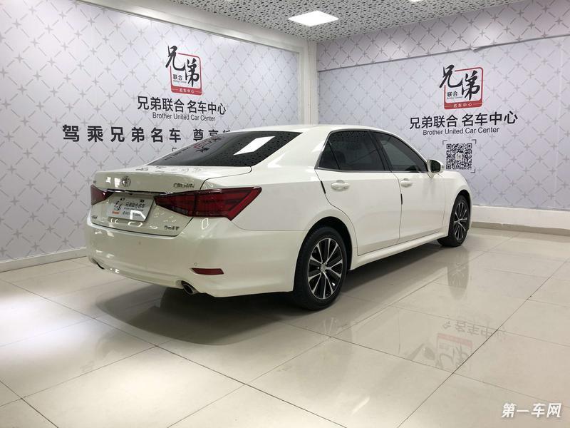 丰田皇冠 2018款 2.0t 自动 时尚版 (国Ⅴ)