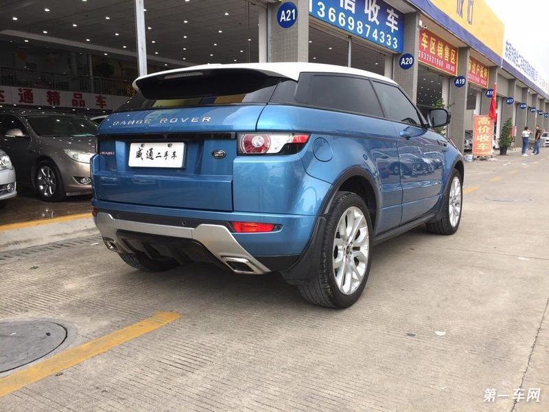 路虎极光 [进口] 2013款 2.0t 自动 四驱 眩蓝限量版