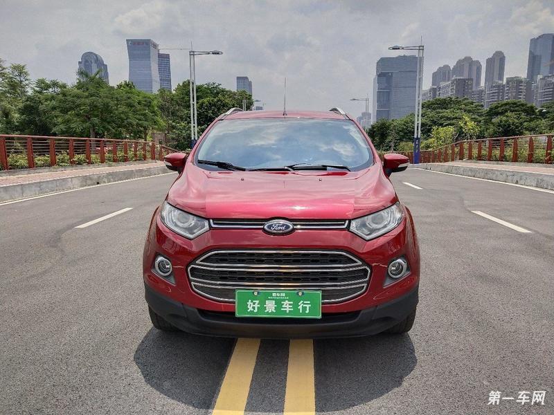 福特翼搏 2013款 1.0t 手动 前驱 尊贵型gtdi (国Ⅴ)