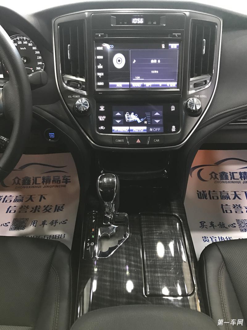 丰田皇冠 2017款 2.0t 自动 运动版 (国Ⅴ)