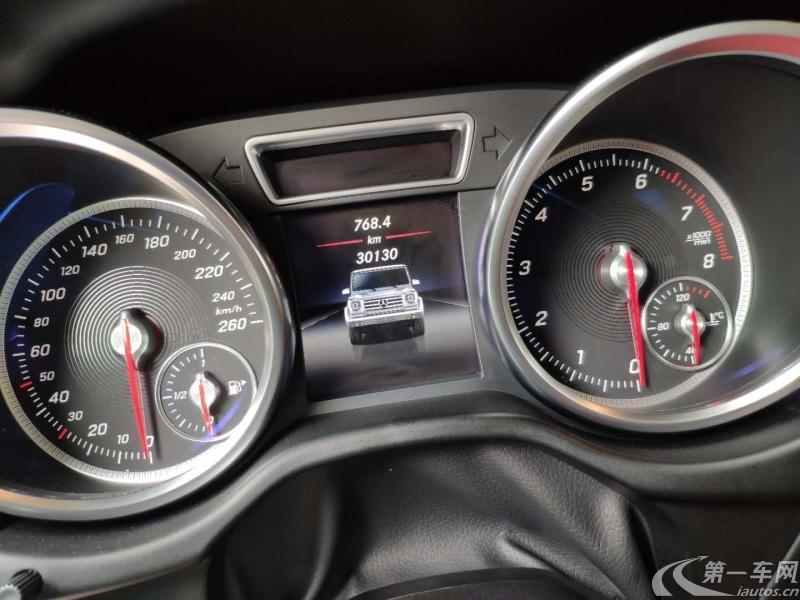 奔驰G级 G500 [进口] 2017款 4.0T 自动 汽油 欧规版平行进口 (欧Ⅴ)