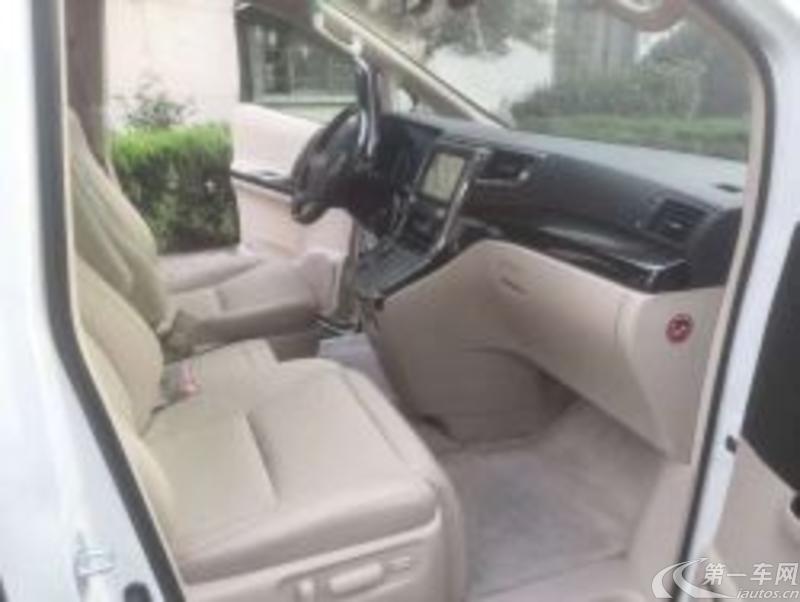 丰田埃尔法 [进口] 2013款 3.5L 自动 7座 豪华版