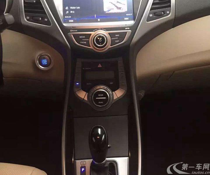 现代朗动 2015款 1.6L 自动 DLX尊贵型 (国Ⅳ)