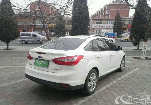 福特福克斯 2012款 1.6L 自动 舒适型 (国Ⅳ)
