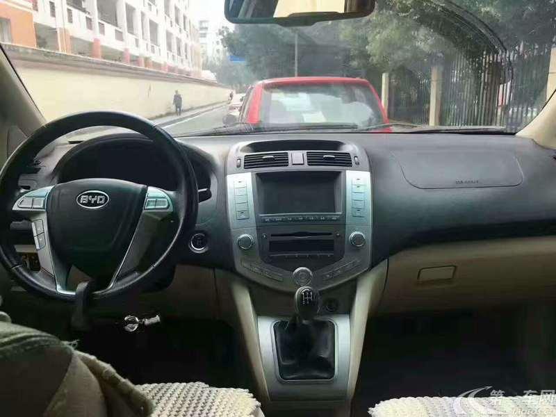 比亚迪S6 2011款 2.0L 手动 前驱 豪华型 (国Ⅳ)