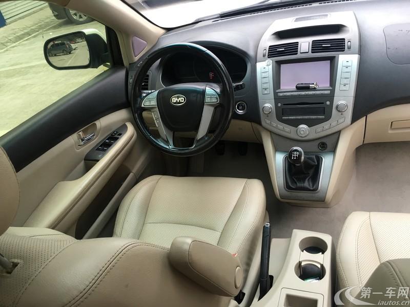比亚迪S6 劲悦版 2012款 2.0L 手动 前驱 尊贵型 (国Ⅳ)