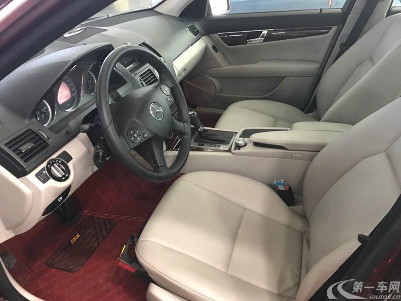 奔驰C级 C200 2009款 1.8T 自动 优雅型 (国Ⅳ)