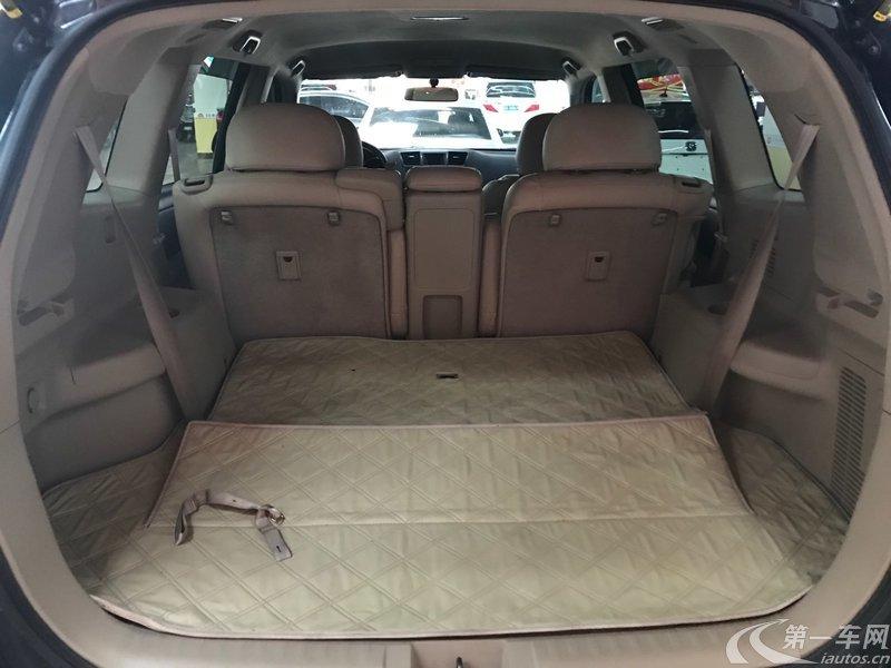 丰田汉兰达 2011款 2.7L 自动 前驱 豪华版 (国Ⅳ)