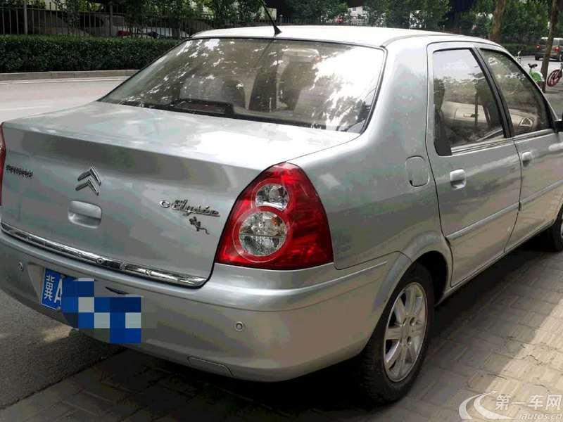 雪铁龙爱丽舍 2013款 1.6L 手动 4门5座三厢车 科技型 (国Ⅳ)