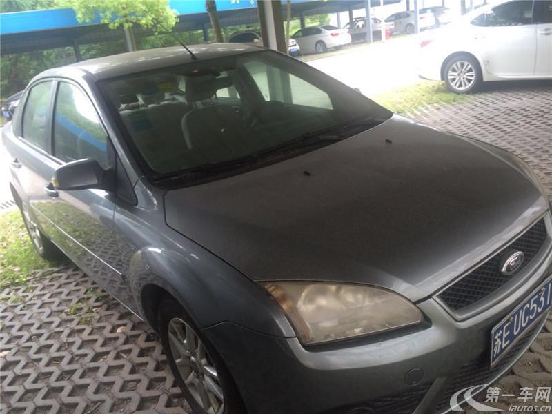 福特福克斯 2007款 1.8L 手动 轿车 舒适型 (国Ⅳ)