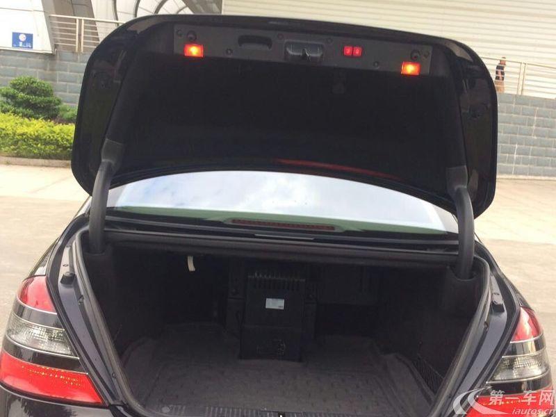 奔驰S级 S500 [进口] 2010款 5.5L 自动 汽油 加长版