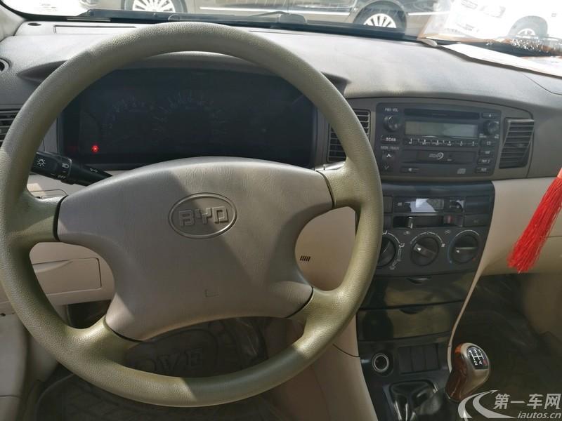 比亚迪F3 智能白金版 2009款 1.5L 手动 GLX-i-Navi智能型 (国Ⅳ)