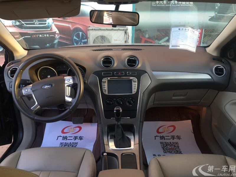 福特蒙迪欧 2011款 2.3L 自动 时尚型 (国Ⅳ)