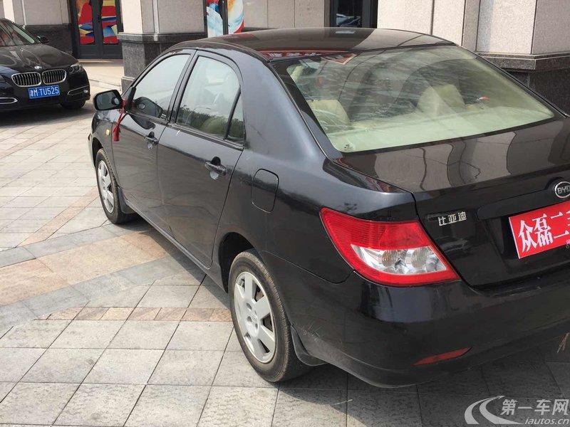 比亚迪F3 白金版 2010款 1.5L 手动 实用型 (国Ⅳ)