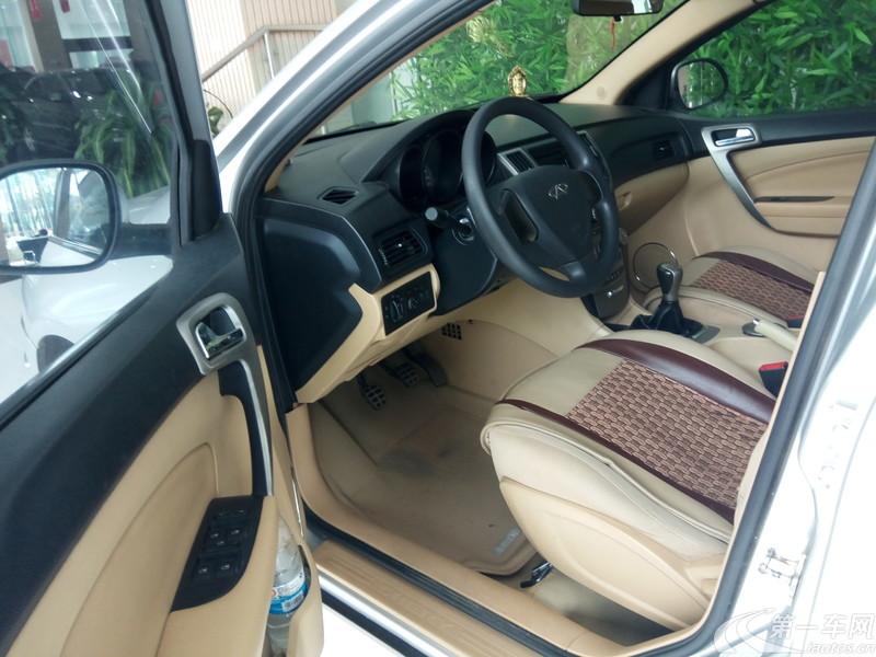 奇瑞A3 2010款 1.6L 手动 4门5座三厢车 改款尊贵型 (国Ⅳ)