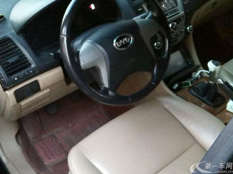 比亚迪F6 财富版 2009款 2.0L 手动 舒适型GL-i (国Ⅳ)
