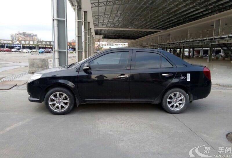 吉利金刚 2013款 1.5L 手动 4门5座三厢车 精英型 (国Ⅳ)