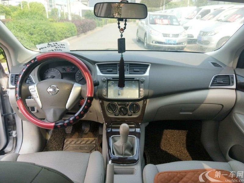 日产轩逸 2012款 1.6L 手动 XL豪华版经典款 (国Ⅳ)