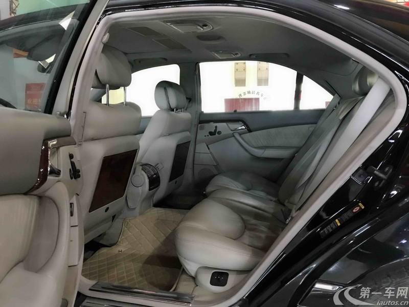 奔驰S级 S350 [进口] 2004款 3.7L 自动 汽油