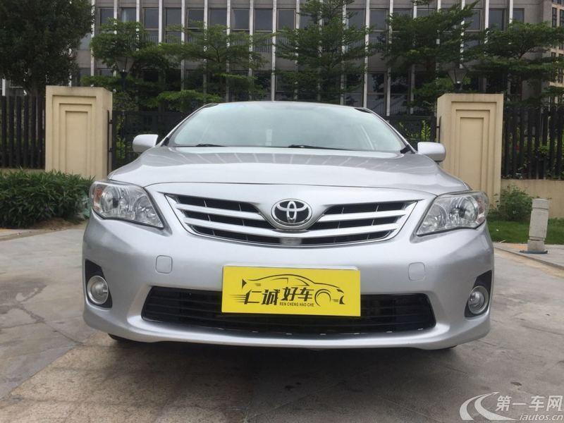 丰田卡罗拉 2013款 1.6L 自动 GL炫酷版 (国Ⅳ)