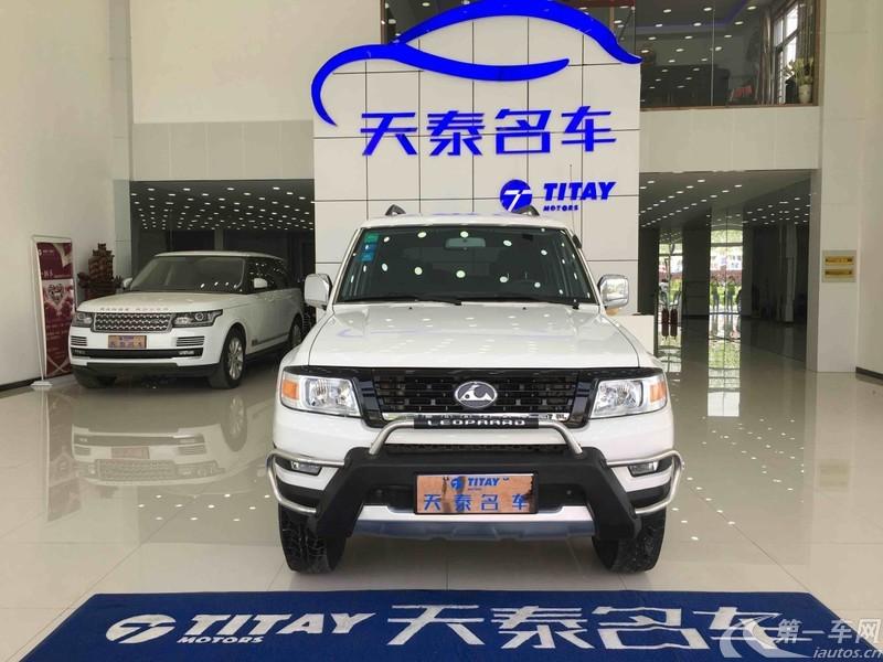 长丰猎豹Q6 2016款 2.4L 手动 四驱 全能版 (国Ⅴ)