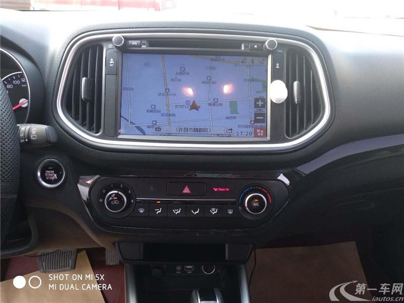 起亚KX3傲跑 2015款 1.6L 自动 DLX (国Ⅴ)