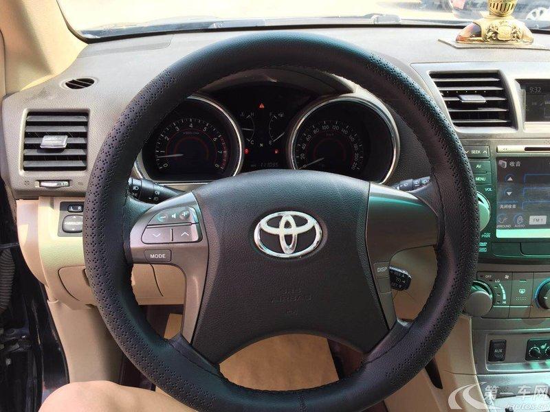 丰田汉兰达 2009款 2.7L 自动 前驱 运动版 (国Ⅳ)