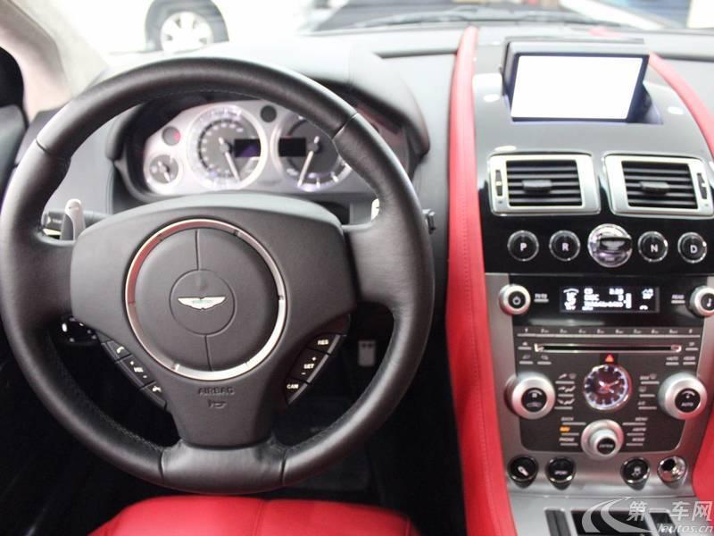 阿斯顿马丁DB9 [进口] 2011款 6.0L 自动 Touchtronic-Coupe
