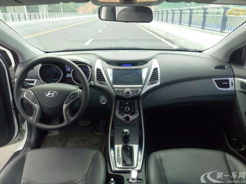 现代朗动 2015款 1.6L 自动 GLX领先型 (国Ⅴ)