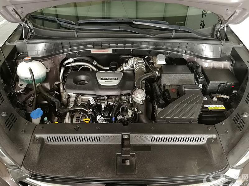 现代途胜 2015款 1.6T 自动 四驱 旗舰型 (国Ⅳ)
