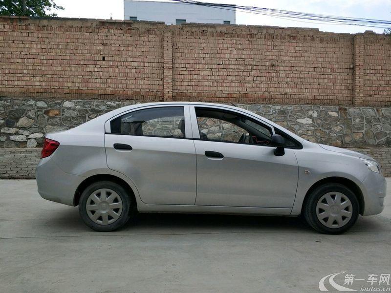 雪佛兰赛欧 2013款 1.4L 手动 4门5座三厢车 优逸版 (国Ⅳ)