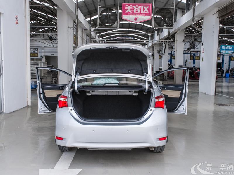 丰田卡罗拉 2014款 1.6L 自动 GL (国Ⅴ)