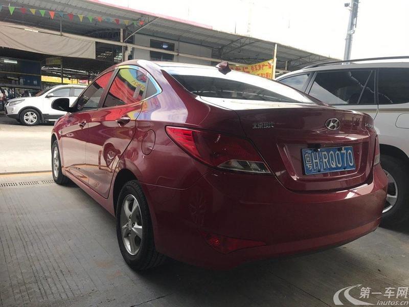 现代2014款 1.4L 自动 4门5座三厢车 时尚型GS (国Ⅳ)