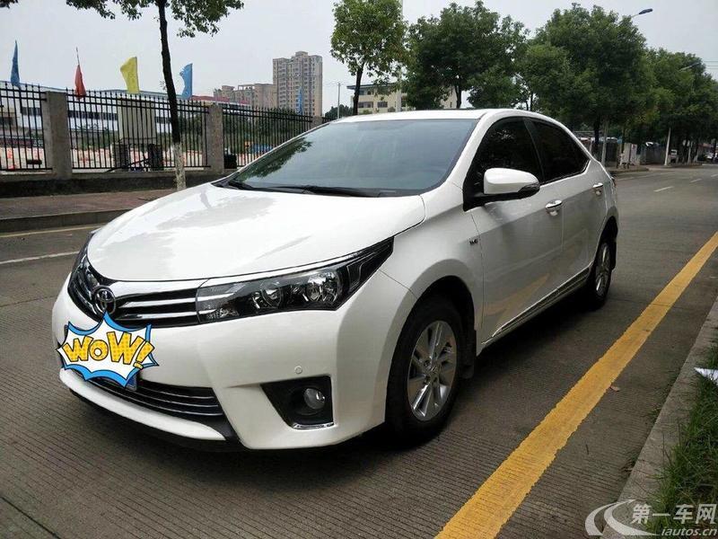 丰田卡罗拉 2014款 1.6L 自动 GLX-i (国Ⅴ)