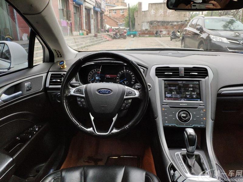 福特蒙迪欧 2013款 2.0T 自动 GTDi240豪华运动型 (国Ⅴ)