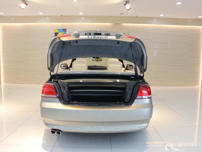 宝马3系敞篷 325i [进口] 2010款 3.0L 自动 柴油