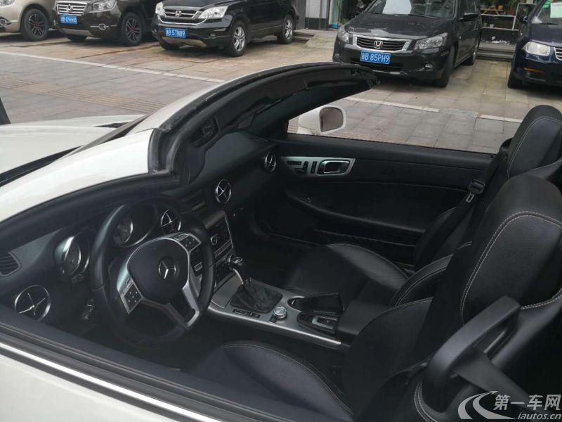 奔驰SLK级 SLK200 [进口] 2011款 1.8T 自动 汽油 时尚型