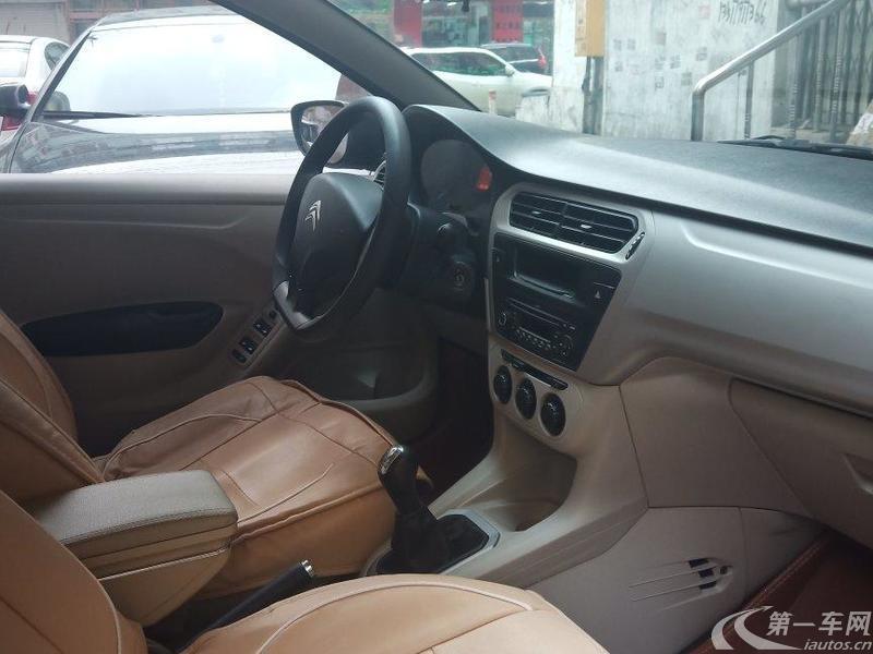雪铁龙爱丽舍 2014款 1.6L 手动 4门5座三厢车 舒适型WTCC纪念版 (国Ⅴ)