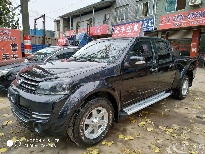 长城风骏 2017款 2.4L 手动 汽油 欧洲版领航型大双排 (国Ⅴ)