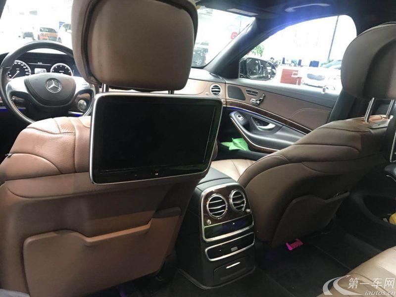 奔驰迈巴赫S级 S400 [进口] 2015款 3.0T 自动