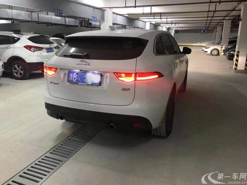 捷豹F-PACE [进口] 2016款 3.0T 自动 S高性能版