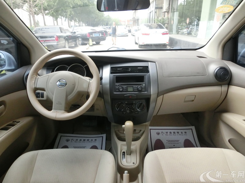 日产骊威 2009款 1.6L 手动 GT炫能型 (国Ⅲ带OBD)