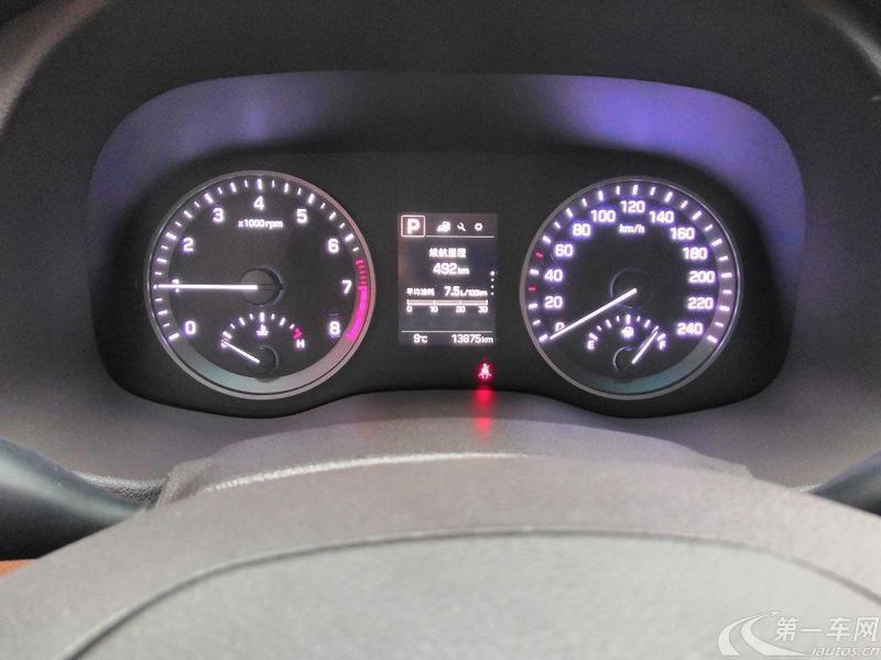现代2015款 1.6T 自动 前驱 舒适型 (国Ⅴ)