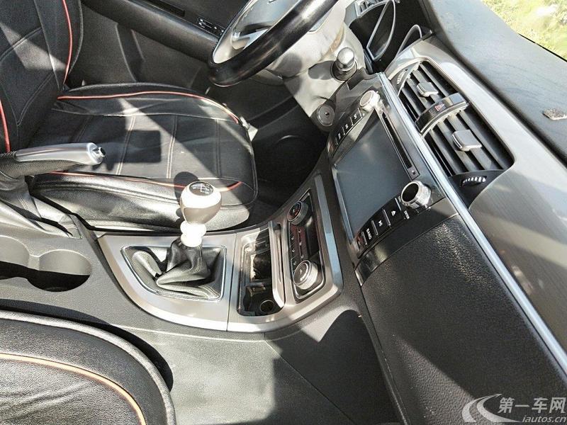 众泰T600 2014款 1.5T 手动 前驱 精英型 (国Ⅴ)