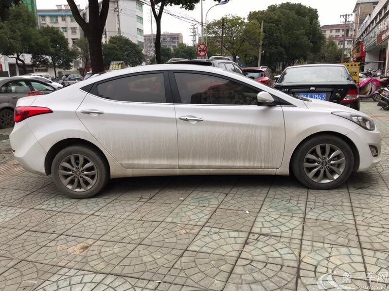 现代朗动 2016款 1.6L 手动 GS时尚型 (国Ⅴ)