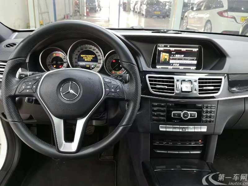 奔驰E级 E260L 2015款 2.0T 自动 汽油 运动豪华型 (国Ⅳ)